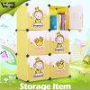 卸し売りオルガナイザーシステムおもちゃは収納キャビネットのプラスチック子供のワードローブに着せる