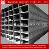 Tubo rectangular de acero galvanizado con ISO