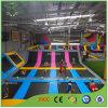 Lujo con color cubierta divertido Trampoline Arena