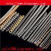 金属によって玉を付けられるチェーンロールサッシュ鎖の鋼鉄は装飾的な鎖を連鎖する