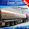 Rimorchio di alluminio del camion di serbatoio dei 3 assi con la sospensione dell'aria