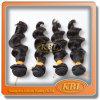 Волосы Weave человеческих волос Remy фабрики естественные индийские