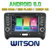 Audi Tt 2006-2014년을%s Witson 8 코어 인조 인간 6.0 차 DVD