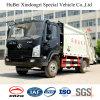 vrachtwagen van de Pers van het Huisvuil van de Lading Shacman de Euro 5 van 5cbm Achter