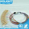 マルチモード光ファイバピグテール12カラーSc