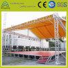 Алюминиевая система ферменной конструкции винта/болта светлого этапа выставки представления с крышей