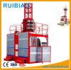 Elevador de construção dupla dupla 2ton