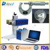 industria del grabado del hardware de la marca del CNC de la etiqueta de plástico del laser de la fibra 30W