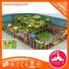 Деятельности при спортивной площадки крытой игры оборудования игры центра игры Playland крытой крытой мягкой мягкие для малышей