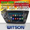 リオ(W2-F9582K)のためのWitsonのアンドロイド5.1車DVD