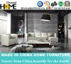 Домашняя мебель из натуральной кожи белого цвета в гостиной раскладной диван в разрезе (HC216)