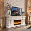 TVの立場のヨーロッパの切り分ける暖房の暖炉のホテルの家具(320SS)