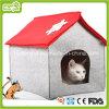 Felt Pet House para o Natal Cat Cave