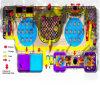 Campo de jogos interno seguro temático do espaço do divertimento do elogio para a venda