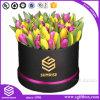 優雅な包装のギフトのローズの花のペーパー円形ボックス