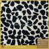 Cuir de chaussure de scintillement d'éclat de léopard (SP019)