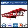 Cimc 2半車軸3車軸自動車運搬船のトレーラー