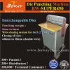 Электрический тонкий ноутбук каландра буклет Примечание книжная бумага для скрепления клеем квадратное отверстие Driller сверла сверлильного станка