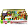 Campo de jogos interno macio da série dos doces para miúdos