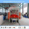Usine de machine de bloc concret/machine de fabrication de brique complètement automatiques