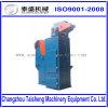Equipamento automático material Peening de tiro do metal/da máquina de sopro tiro da bobina