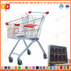 슈퍼마켓 유럽 작풍 아연 쇼핑 카트 (Zht12)