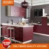 Nuovo armadio da cucina esotico dell'impiallacciatura del pino di disegno di colori