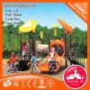 Multifunktionsschule-Spielplatz-im Freienkind-Gefäß-Plättchen