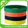 Braccialetto dimensionale del silicone del Wristband del codice a barre di modo promozionale del regalo