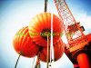 50t Davit Crane Lifting Test Foldable Water Proof Weight Bag