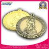 ロゴおよび締縄が付いているカスタム競争メダル