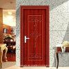 高品質の単一の葉の無光沢のLvoryの鋼鉄ドア(SX-8-1045)