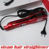 Cepillo eléctrico de la enderezadora del pelo del vapor para el uso femenino