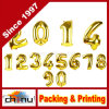 Number d'or Foil Balloon pour Christmas Holidays Parties (420055)