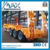 Niedriges Price 2 3 Axles Flat Bed Trailer/Container Semi Trailer/Truck Trailer mit Twist Lock für Containers und Heavy Bulk