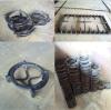 Supporti della vaschetta del ghisa/griglie della stufa Parts/Fire