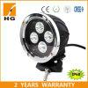 40W 5.5inchのクリー族LEDのトラックのための円形の黒LED作業ライト