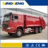 Sinotruk 6X4 16cbm de compresión de la parte trasera de camiones de basura (JHL5250ZYS)