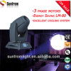 Moteurs à 3 phases 6080lux @ 5m 150W Spot LED Moving Head