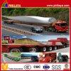 L'énergie éolienne camion remorque à plat