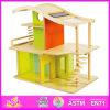 2014명의 새로운 아이 나무로 되는 장난감 집, 대중적인 실행 나무로 되는 아이들 장난감 집, 교육 아기 나무로 되는 장난감 집 고정되는 공장 W06A052