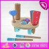 Sistema musical del juguete de la mini percusión de madera 2015, sistema musical de madera del instrumento de percusión, percusión de madera de múltiples funciones W07A086 determinado