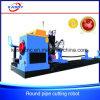 CNC Oxy 연료 플라스마 탄소 강관 또는 압력 용기 자동적인 절단 구멍 드릴링 기계