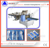 Película que introduce de debajo el tipo horizontal máquina del embalaje automático