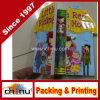 Книжное производство картона детей Eco содружественное ярк покрашенное