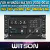Hyundai Matrix (W2-D8900Y)를 위한 모터 DVD GPS