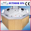 Vasca da bagno esterna di massaggio della STAZIONE TERMALE del poligono (AT-9009)