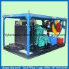 고압 하수구 청소 기계 200bar 디젤 엔진 압력 세탁기