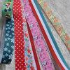 Großverkauf-5mm-75mm gesponnenes Bandbuntes gedrucktes Grosgrain-Farbband für Geschenk-/Blumen-Verpackung