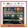48 Les couleurs de l'encre gel stylo